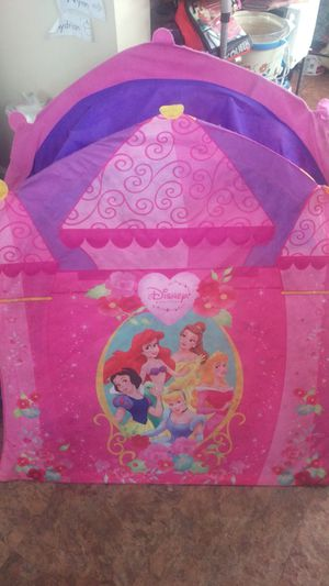 Princess play tent for Sale in OH, US