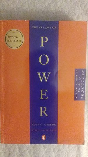 The 48 laws of power book for Sale in Burbank, WA