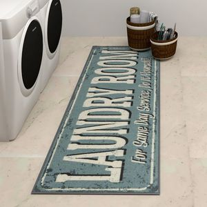 """Laundry Mat Runner Rug in Teal 20""""X59"""" Ideal for Home Laundry Rooms for Sale in Los Angeles, CA"""