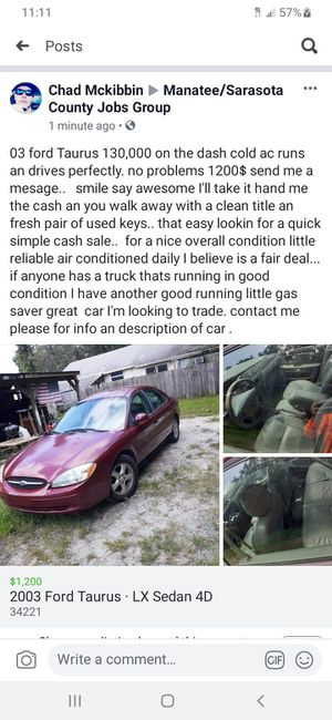 Daily car for Sale in Palmetto, FL
