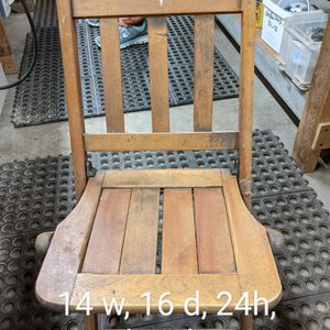Kid's Wooden Folding Chairs for Sale in Suttons Bay, MI