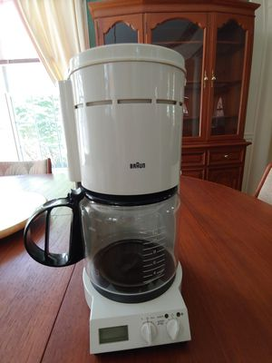 Braun Coffee Maker for Sale in Glenn Dale, MD