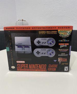 Super Nintendo classic brand new for Sale in Pembroke Pines, FL