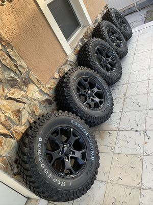2021 Jeep Wrangler Rubicon wheels fits all wrangler 2007 to 2021, Jeep Gladiator. for Sale in Miami, FL