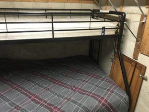 Bunkbed twin over full for Sale in Gaithersburg, MD