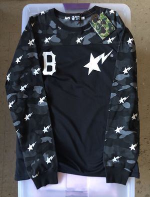 Bape x Black Scale Long Sleeve Size Large for Sale in Boston, MA
