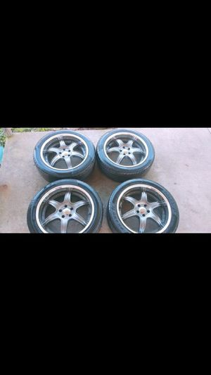 Falken FK452 tires w/ Rims for Sale in Crosby, TX