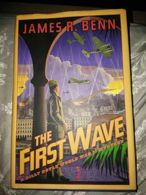 James R Benn The First Wave a world war 2 mystery for Sale in Newnan, GA