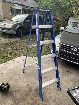 Louisville 6ft step ladder for Sale in Tampa, FL