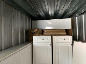 White kitchen cabinets for Sale in Boston, MA