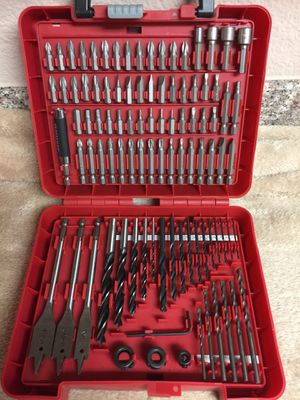 100 piece drill and driver set BRAND NEW not used. for Sale in Port Richey, FL