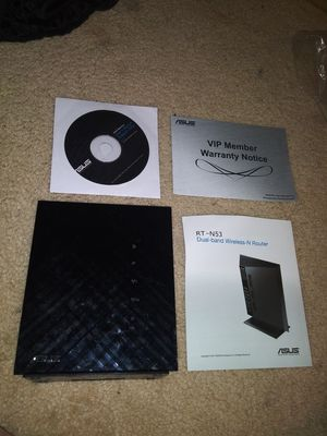 ASUS Dual-Band Wireless-N Router Model RT-N53 for Sale in Carrollton, TX