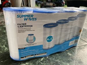 Summer waves A C pool filter 4 pack for Sale in Charlotte, NC