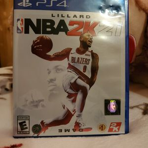 Ps4 Nba2k21 for Sale in Chicago, IL