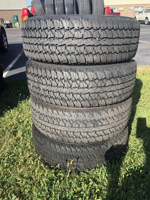 Set of for 245/65r17 for Sale in Gilbertsville, PA