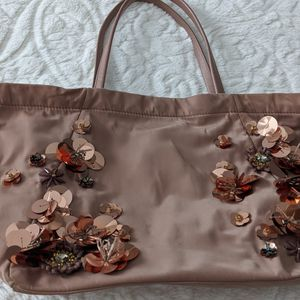Tory burch sequined embroidered tote/bag for Sale in Davie, FL