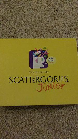 Scattergories Junior Game for Sale in Maitland, FL