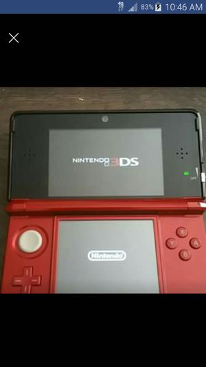 Nintendo 3DS (Red) Game/Accessories Bundle for Sale in Powell, OH