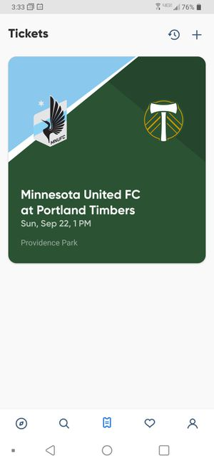 Timbers Tickets for Sale in Tigard, OR