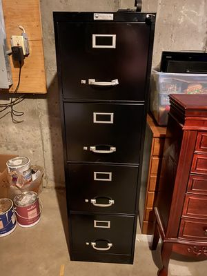 Vertical File Cabinet with 4 drawers for Sale in Framingham, MA
