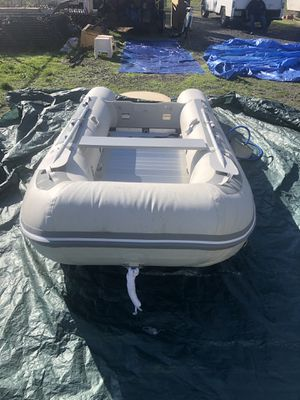 West marine AL 360 aluminum bottom sport boat never been in the water for Sale in Salem, OR