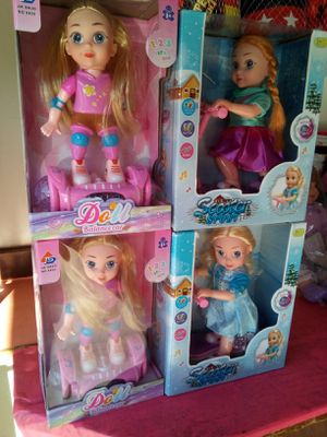 Scooter dolls and hoverboard dolls $15each located in Palmdale open till 10 p.m. we ship out $10 orders or more for Sale in Palmdale, CA
