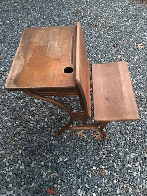 Antique school desk for Sale in Burlington, NC