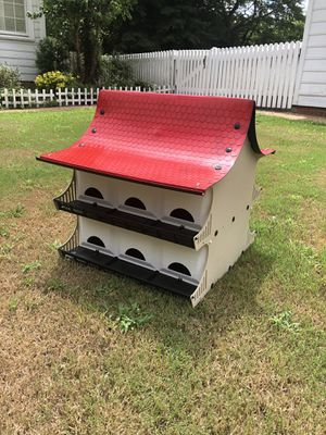 12 room purple Martin bird house for Sale in PROVDENCE FRG, VA