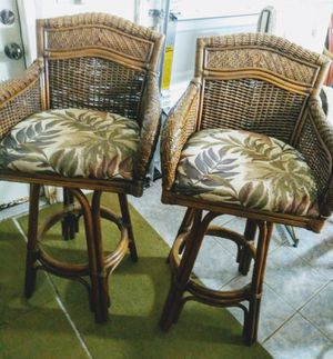 SWIVEL BAR STOOLS (2) for Sale in Spring Hill, FL