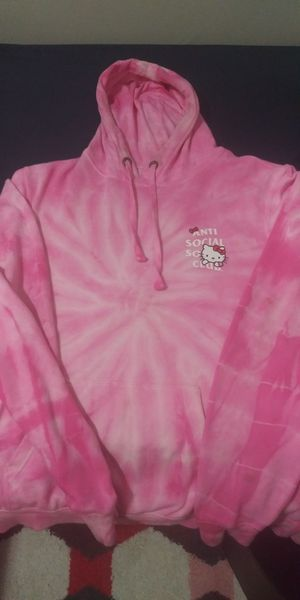 Anti Social Social Club hoodie w/ supreme bag and AAPE hat **Hello Kitty Colab* 100% authentic **SIZE XL** i know the pic is hard to tell for Sale in Fairfax, VA