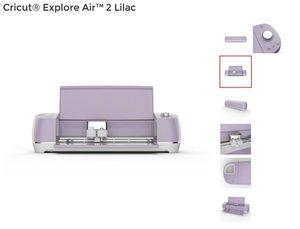 Cricut Explore Air 2 - Lavender/Lilac for Sale in Cupertino, CA