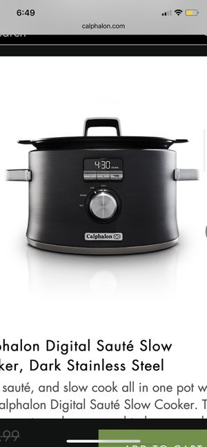 Calphalon Slow Cooker for Sale in Fresno, CA