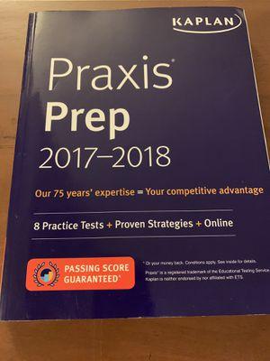 Kaplan Praxis Prep 2017-2018 for Sale in Roanoke, VA
