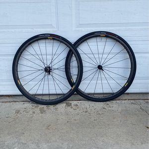 Mavic Ksyrium Pro Carbon SL 10/11 Speed Carbon Fiber Clincher Wheelset for Sale in Los Alamitos, CA