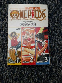 One peice Manga (Vol 1,2,3) for Sale in Oakdale,  PA
