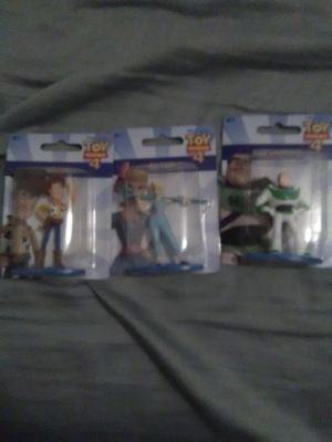 Toy story 4 lot fiqurines $2 each or all for $5 for Sale in Norfolk, VA