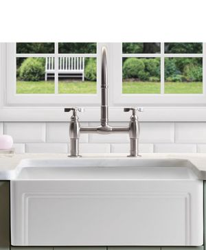 """BEAUTIFUL Farmhouse Fireclay Reversible Single Basin Sink 33"""" BRAND NEW for Sale in Fort Smith, AR"""