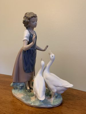 "Lladro Figurine ""Girl with Swans"" for Sale in Parrish, FL"