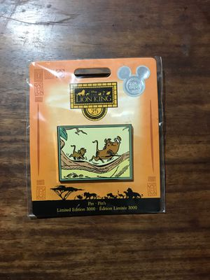 Disney - THE LION KING PIN Limited Edition 3000 for Sale in El Monte, CA