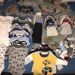 Baby Boy Clothes 3m-6m for Sale in Austin, TX