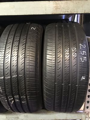 (2) tires Hankook 255/50r20 for Sale in Los Angeles, CA
