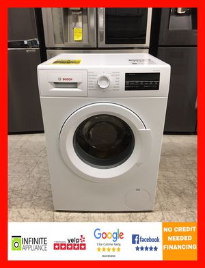 """Bosch 24"""" front load washer (Take it home today with only $39 DOWN. No credIt needed) for Sale in San Jose, CA"""