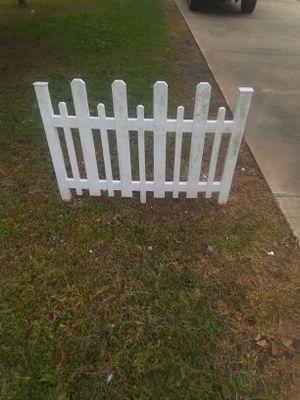 Vinyl picket fence panels for Sale in Marksville, LA