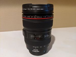 Canon EF 24-105mm f/4L IS USM DSLR Lens for Sale in Perris, CA