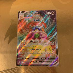 Pokemon Trading Card Alcremie Vmax for Sale in Costa Mesa, CA