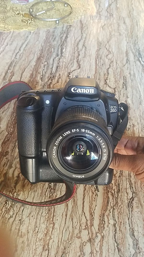 """"""" Only for pro photographer only """".... Canon EOS 20 D Body with lenses."""