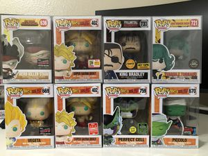 Funko Pop Dragonball Z SDCC My Hero Academia Marvel for Sale in Peoria, AZ