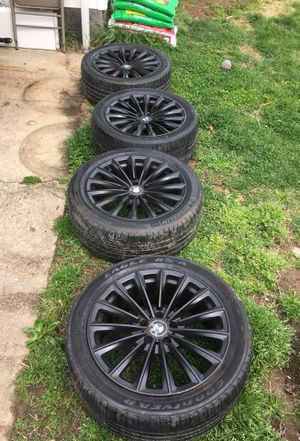 2008 bmw M5 wheels and tires for Sale in Aspen Hill, MD