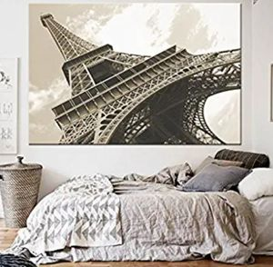 Eiffel Tower large oversized wall print for Sale in Warrington, PA