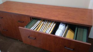 Wood Laminate File Cabinets (3) for Sale in Norwell, MA